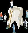 牙龈萎缩能种植牙齿吗